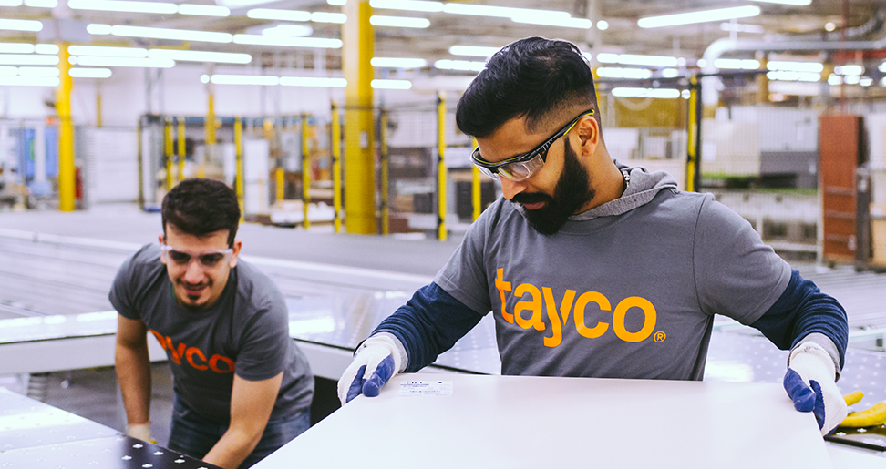 Working at Tayco