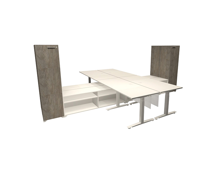 Tables - Height Adjustable Typical 6