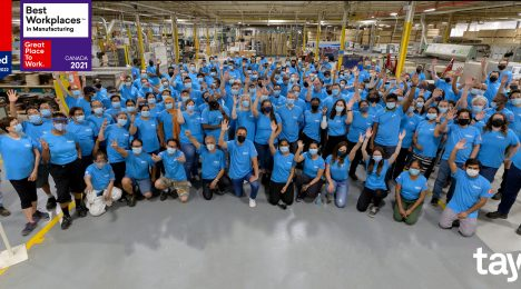 Tayco is on the Best Workplaces™ in Manufacturing list for 2021!